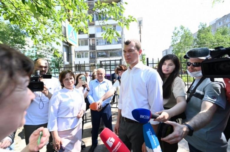 Фото: Александр Янышев. Пресс-служба губернатора и правительства Хабаровского края
