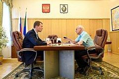 Михаил Дегтярев: школу в селе Ачан будем восстанавливать
