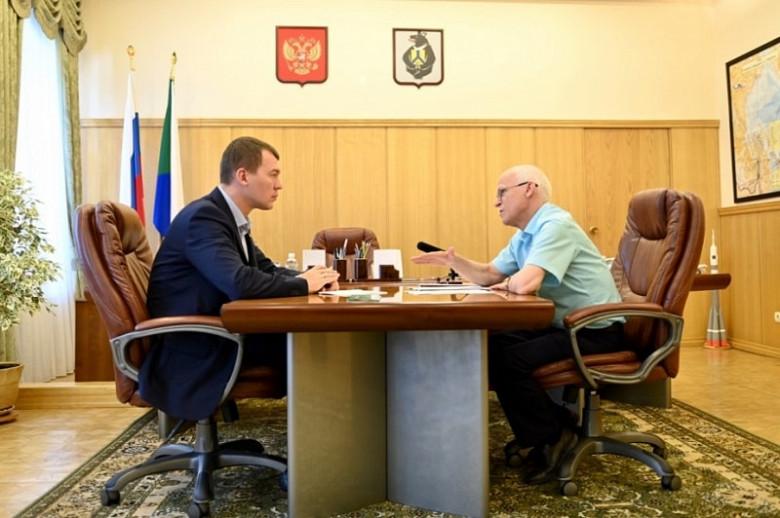 Михаил Дегтярев: школу в селе Ачан будем восстанавливать фото 2