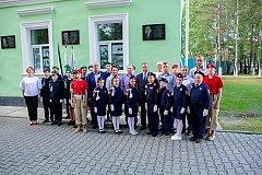 Мемориальную доску к 100-летию Алексея Черного открыли в районе имени Лазо