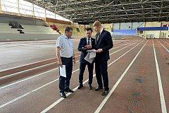 Краевые власти планируют отремонтировать Легкоатлетический манеж в Хабаровске