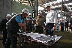 Дегтярев: Мы ведем работу над дополнительной загрузкой Хабаровского судостроительного завода