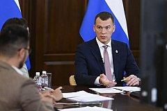 ФОМ: Уровень поддержки курса Михаила Дегтярева в Хабаровском крае продолжает расти