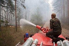 Более десяти лесных пожаров зафиксировано в Хабаровском крае
