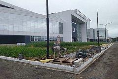 Центр сложнокоординационных видов спорта сдадут к концу августа в Комсомольске-на-Амуре
