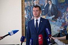 Михаил Дегтярев вступит в должность губернатора Хабаровского края 24 сентября
