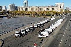 Новыми автомобилями «Скорой помощи» пополняются районные больницы в Хабаровском крае