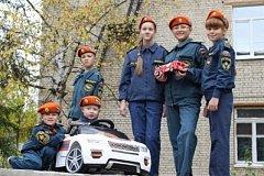 Дети спасателей записали песню и сняли клип о героической профессии своих родителей
