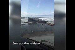 Воды Амура поднимаются с каждым часом в Николаевском районе
